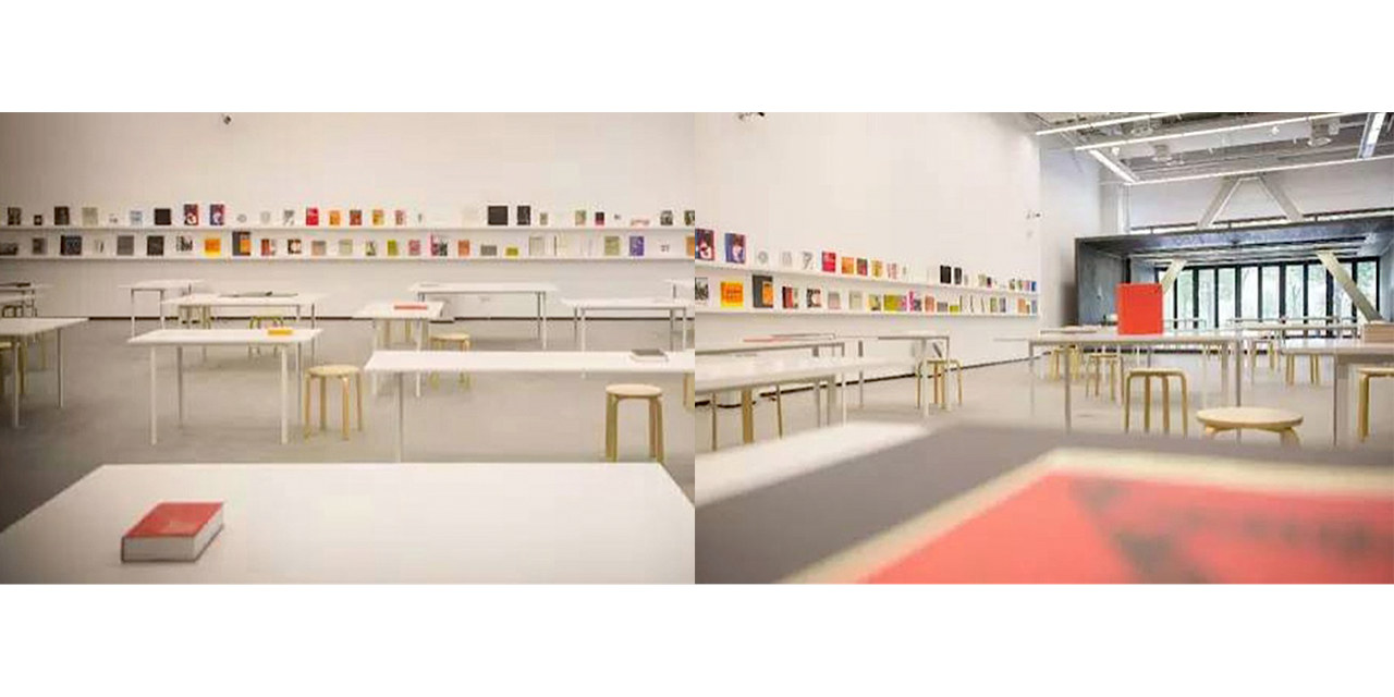 The final setup of the exhibition