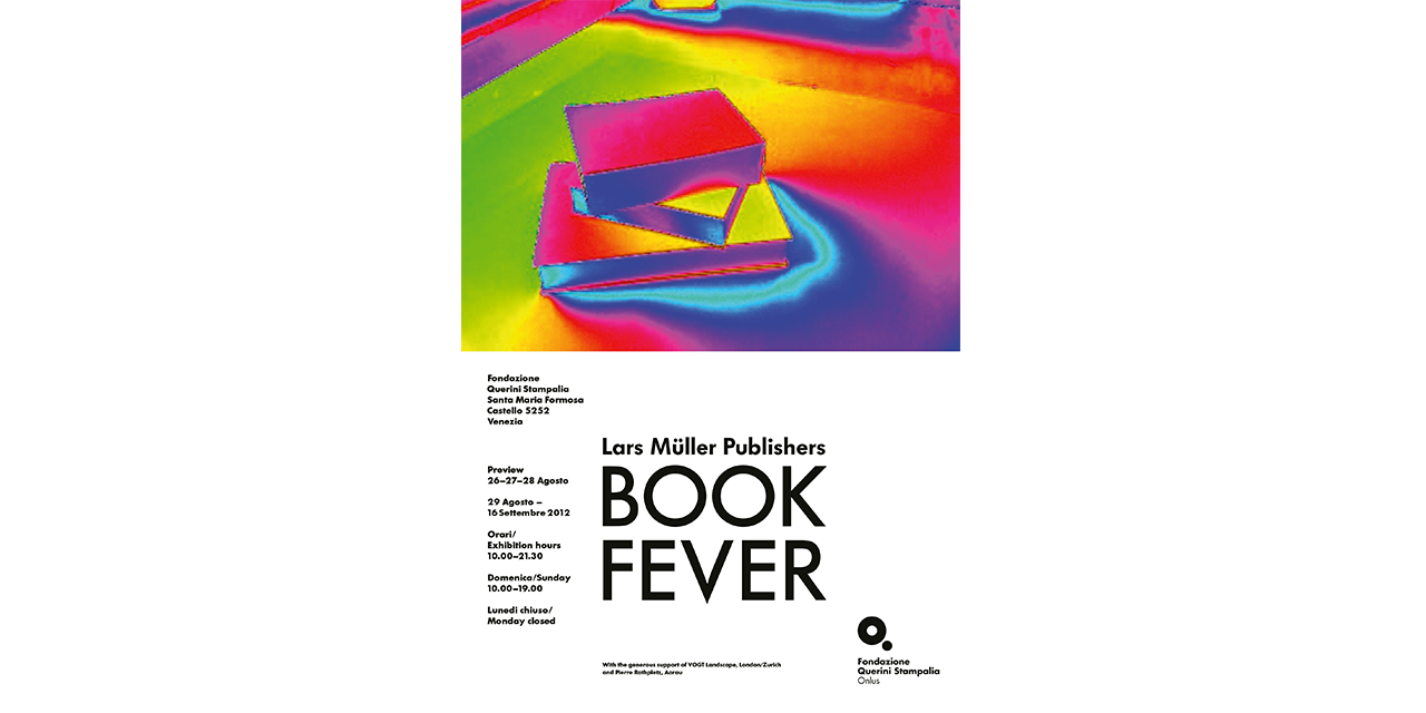 Plakat Book Fever Venedig