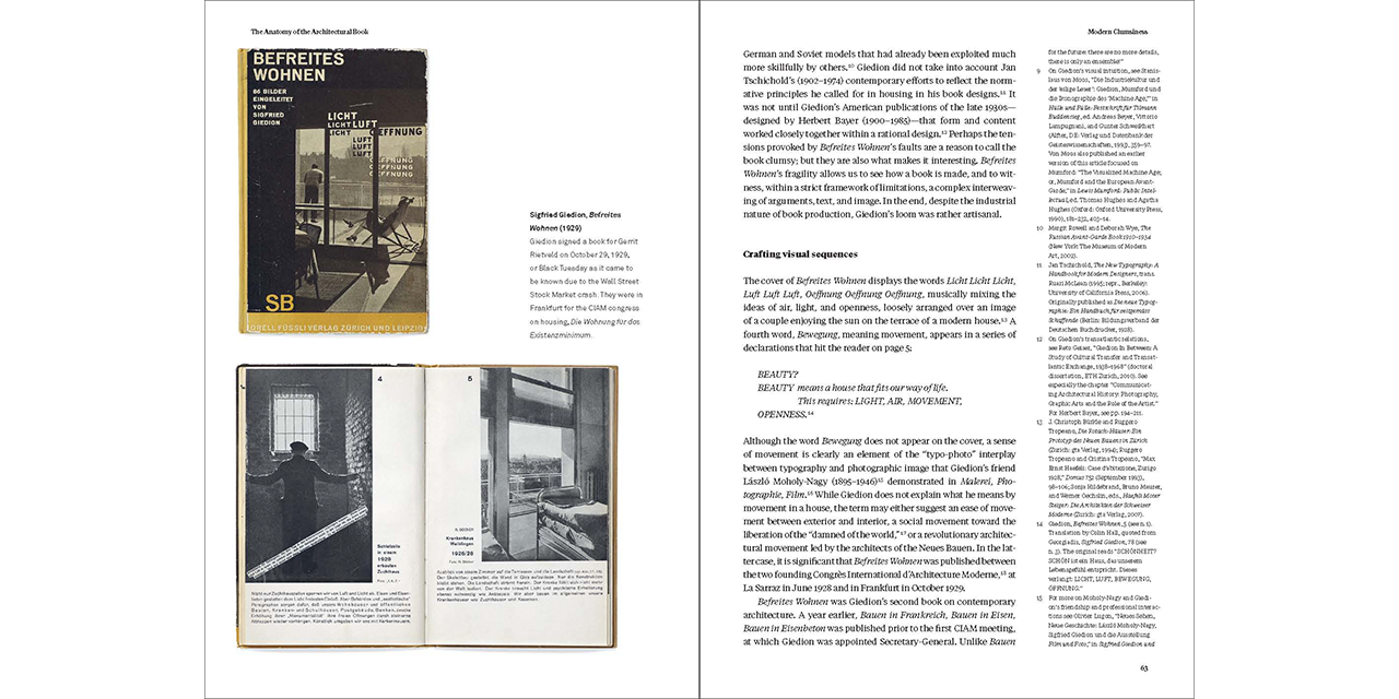 The Anatomy Of The Architectural Book Lars Mller Publishers